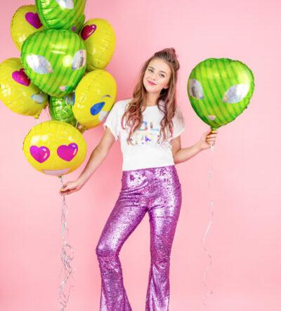 balony dla zakochanych i ufo