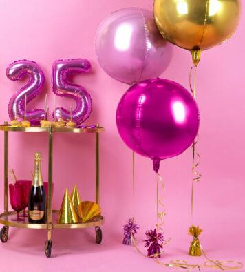balony na hel 25 urodziny